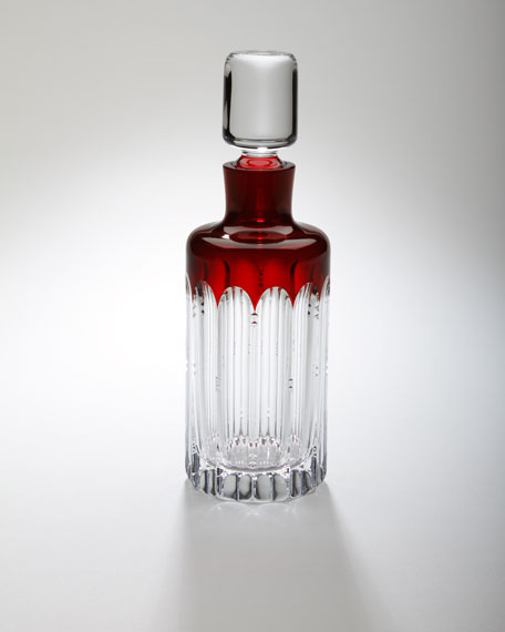 """Mixology"" Talon Red Decanter"