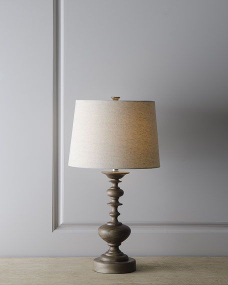 """Contempo Turning"" Lamp"