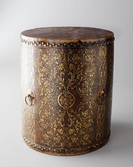 Vintage Drum, Gold