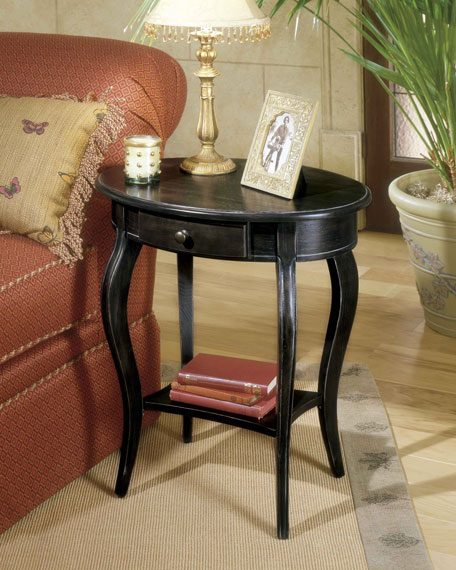 Oval Accent Table