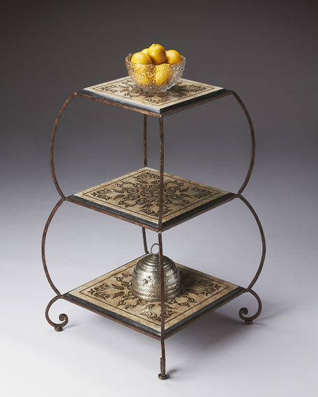 Transitional Etagere