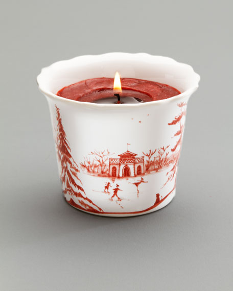 "Ruby ""Winter Holiday"" Soy Candle"