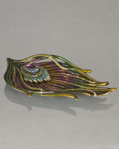 """Peacock"" Trinket Tray"