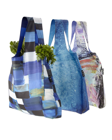 Three Reusable Shopping Bags