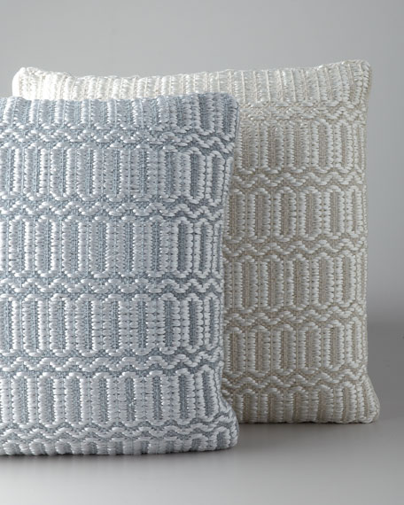 """Woven Luster"" Accent Pillow"