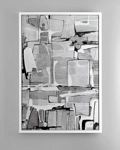 """Black Tie"" Abstract Art"
