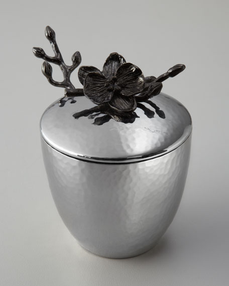 """""""Black Orchid"""" Mini Pot with Spoon"""