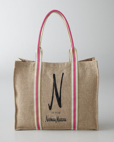 """N is for Neiman Marcus"" Tote Bag"