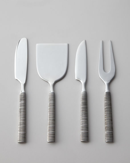 "Four-Piece ""Wrap"" Cheese Set"