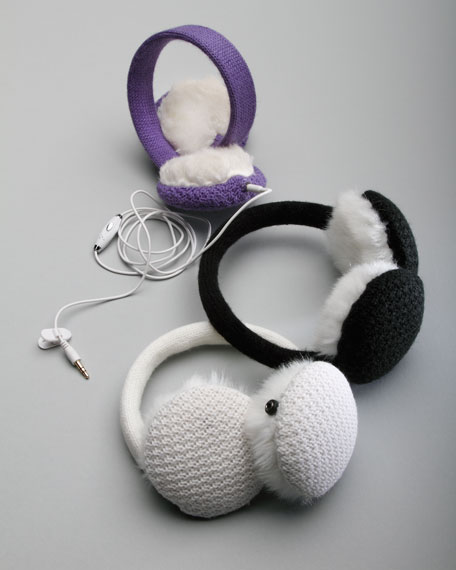 Wired Headphone Earmuffs