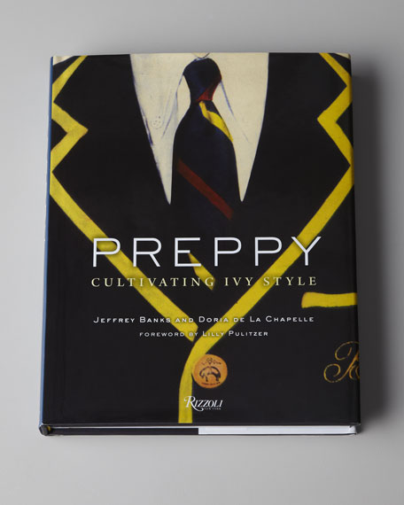 """Preppy, Cultivating Ivy Style"" Hardcover Book"