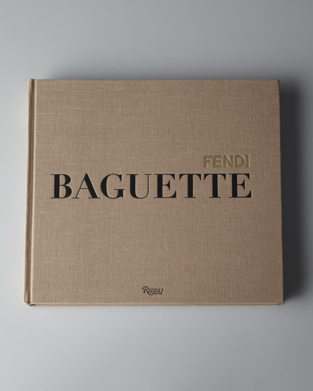 """Fendi Baguette"" Hardcover Book"