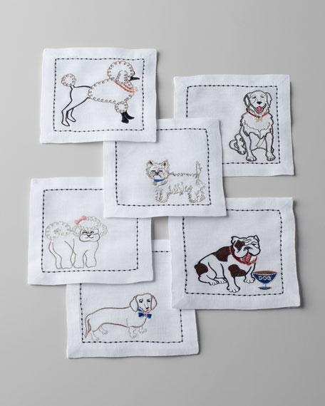 """""""Best in Show"""" Cocktail Napkins"""