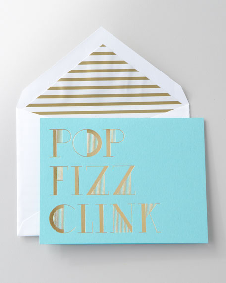 "10 ""Pop Fizz Clink"" Holiday Cards"