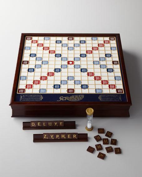 Scrabble Deluxe Game Set