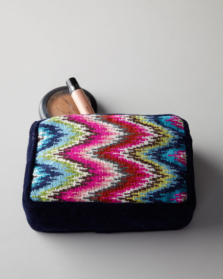 Needlepoint Accessory Bag
