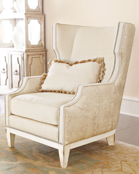 """Florina"" Wing Chair"