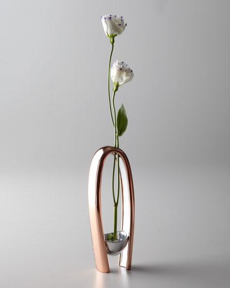 """""""Copper Canyon"""" Bud Vase"""