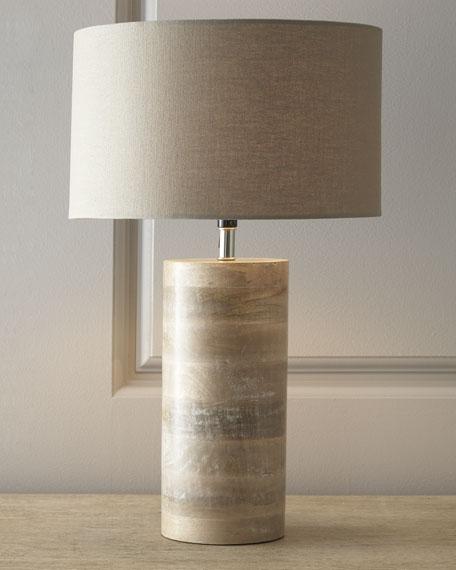 """Medowmack"" Wood Lamp"