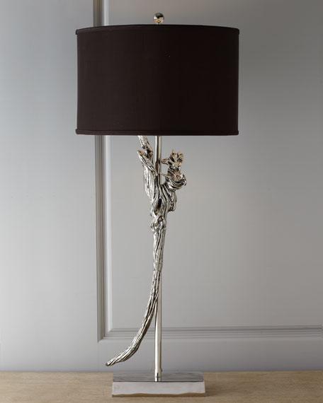 """Salvaged Wood"" Table Lamp"
