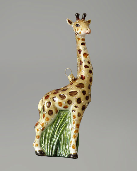 """Giraffe"" Christmas Ornament"