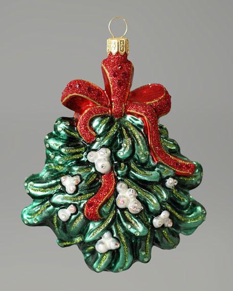 """Mistletoe"" Christmas Ornament"