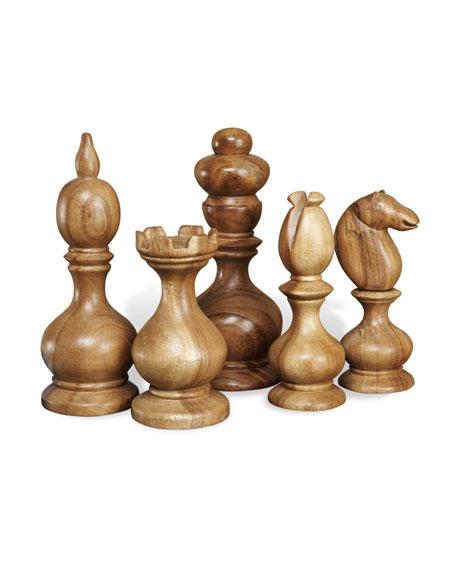 """""""Bernard"""" Chess Pieces"""