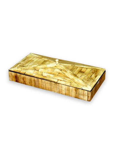 """Tristan"" Pyramidal Box"
