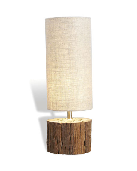 """Sebasco"" Wood Lamp"