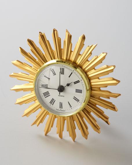 """Sunburst"" Desk Clock"