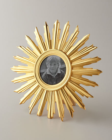 """Sunburst"" Photo Frame"