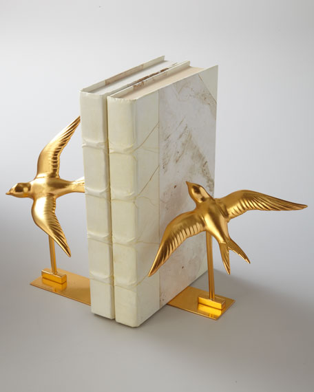 """Swallow"" Bookends"