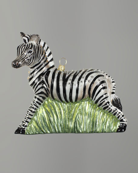 """Zebra"" Christmas Ornament"