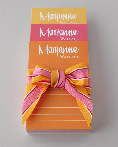 Three Sunshine Notepads