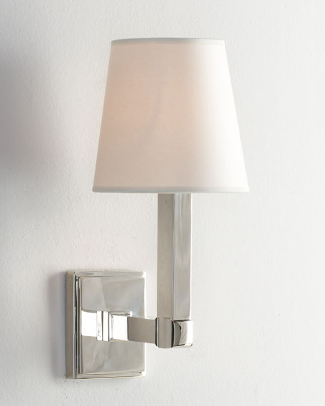 """Square Plate"" Sconce"