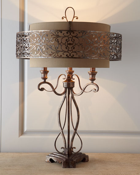 Moroccan-Inspired Lamp