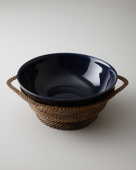 """Somerset Island"" Footed Bowl"