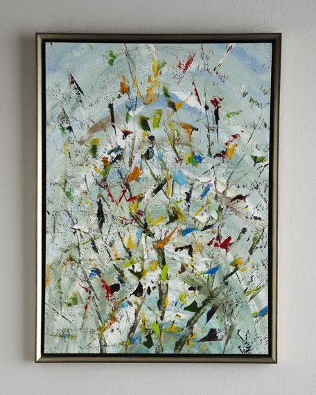 """The Confetti Garden"" Original Oil Painting"