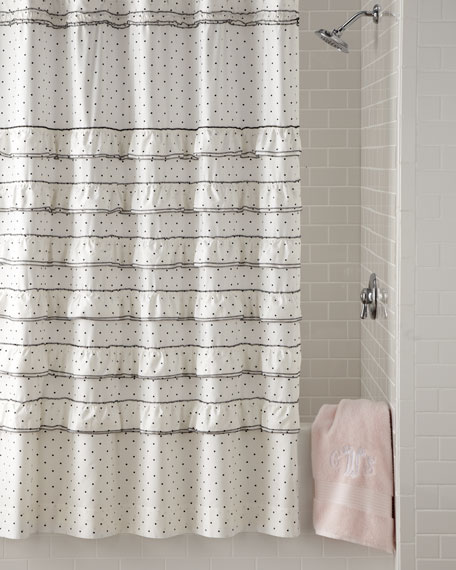 """""""Can Can"""" Shower Curtain"""