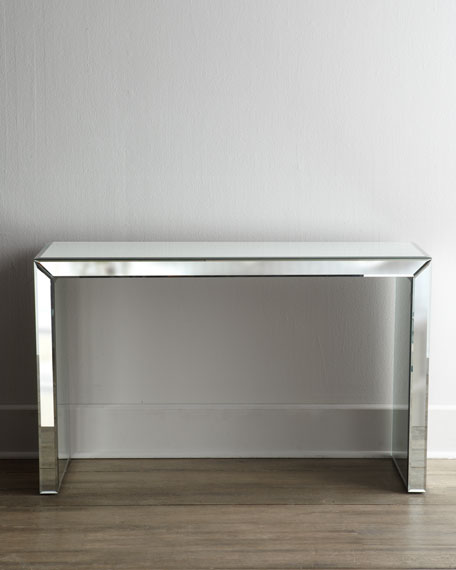 """Brandy"" Mirrored Console Table"