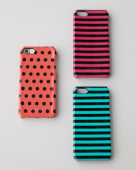Glossy Leather iPhone 5/5s Case