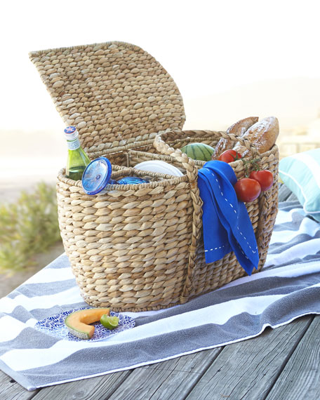 Seagrass PIcnic Basket