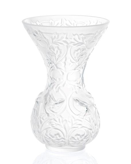 Lalique Arabesque Vase