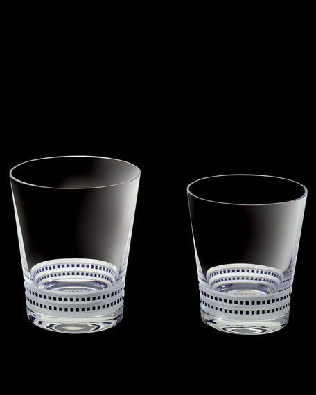 "Two ""Facet"" Tumblers"