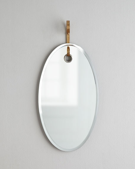 """Vienna"" Oval Mirror"