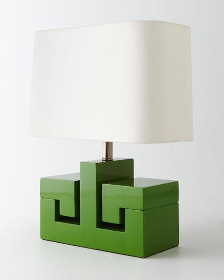 Greek Key Mini Lamp