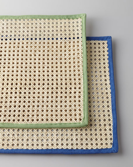 Rectangular Caning Placemat