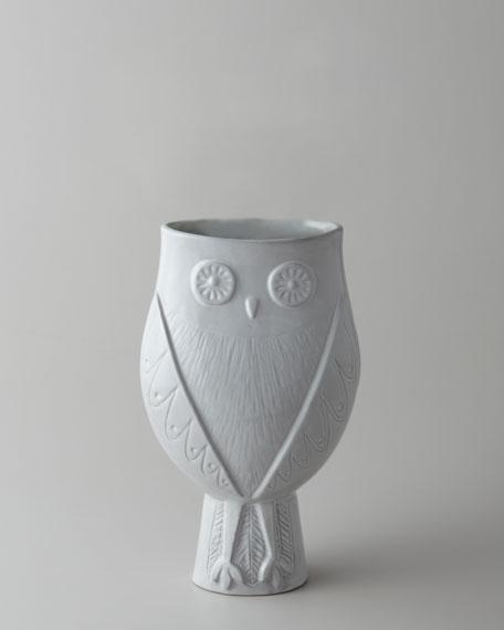jonathan adler utopia owl vase. Black Bedroom Furniture Sets. Home Design Ideas