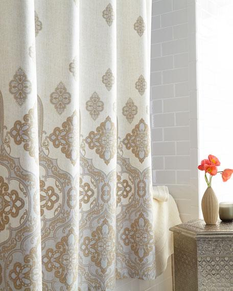 "Charisma ""Marrakesh"" Shower Curtain"