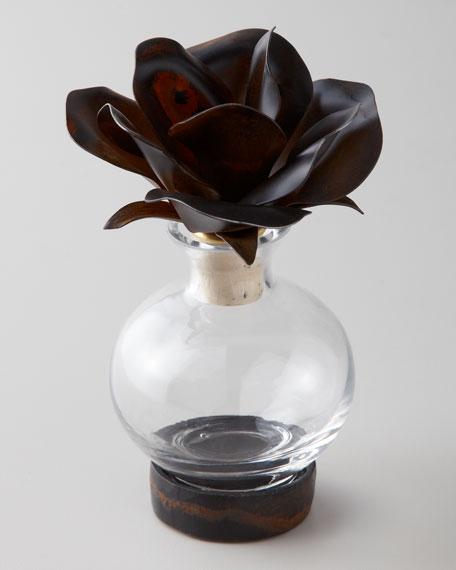 Rose Topper Perfume Bottle